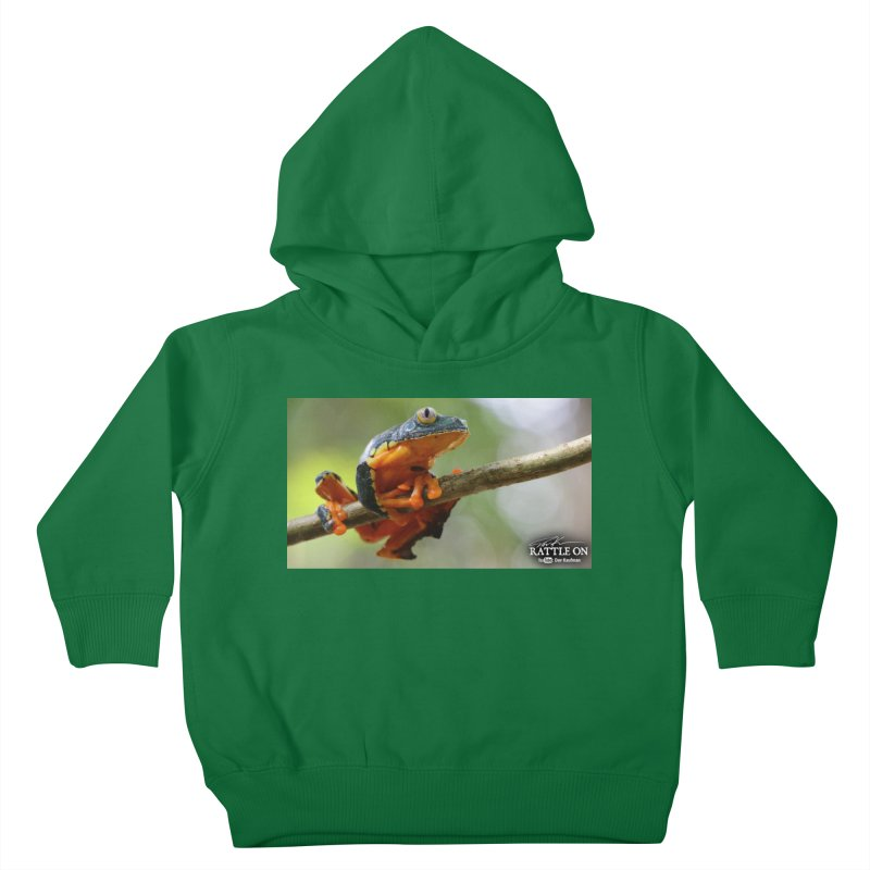 Amazon Leaf Frog Kids Toddler Pullover Hoody by Dav Kaufman's Swag Shop!