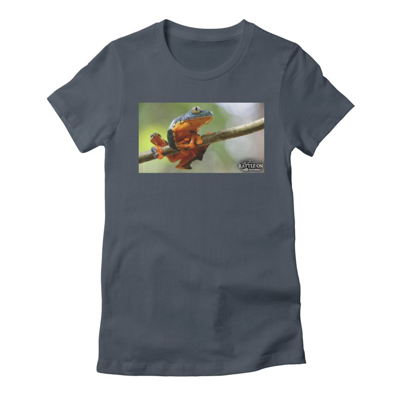 Amazon Leaf Frog Women's T-Shirt by Dav Kaufman's Swag Shop!