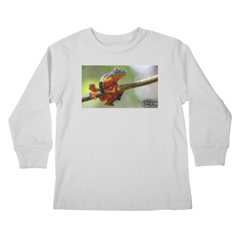 Amazon Leaf Frog Kids Longsleeve T-Shirt by Dav Kaufman's Swag Shop!