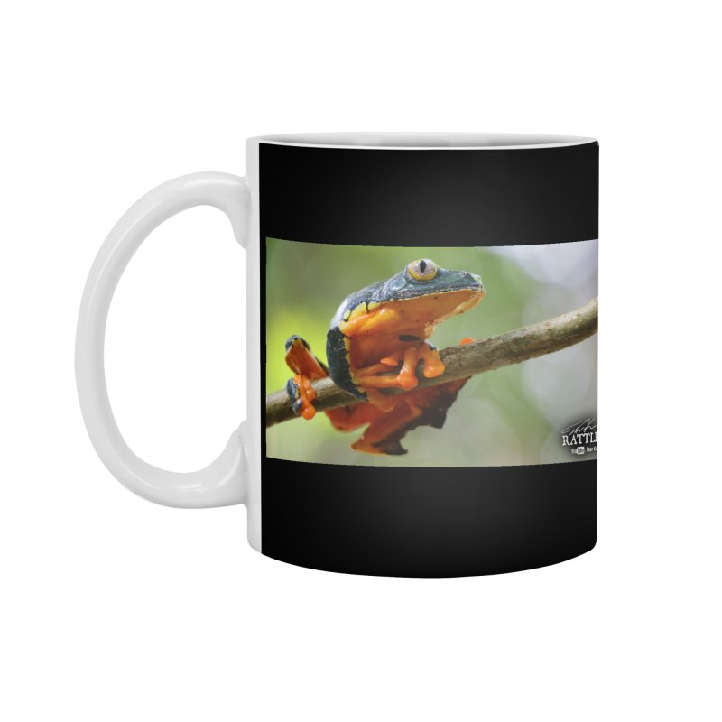 Amazon Leaf Frog Accessories Standard Mug by Dav Kaufman's Swag Shop!