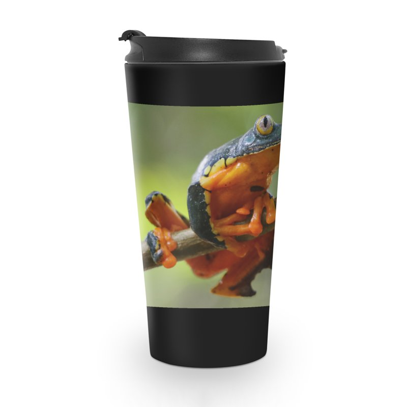 Amazon Leaf Frog Accessories Travel Mug by Dav Kaufman's Swag Shop!