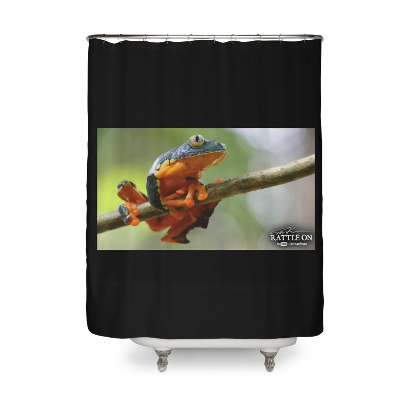 Amazon Leaf Frog Home Shower Curtain by Dav Kaufman's Swag Shop!