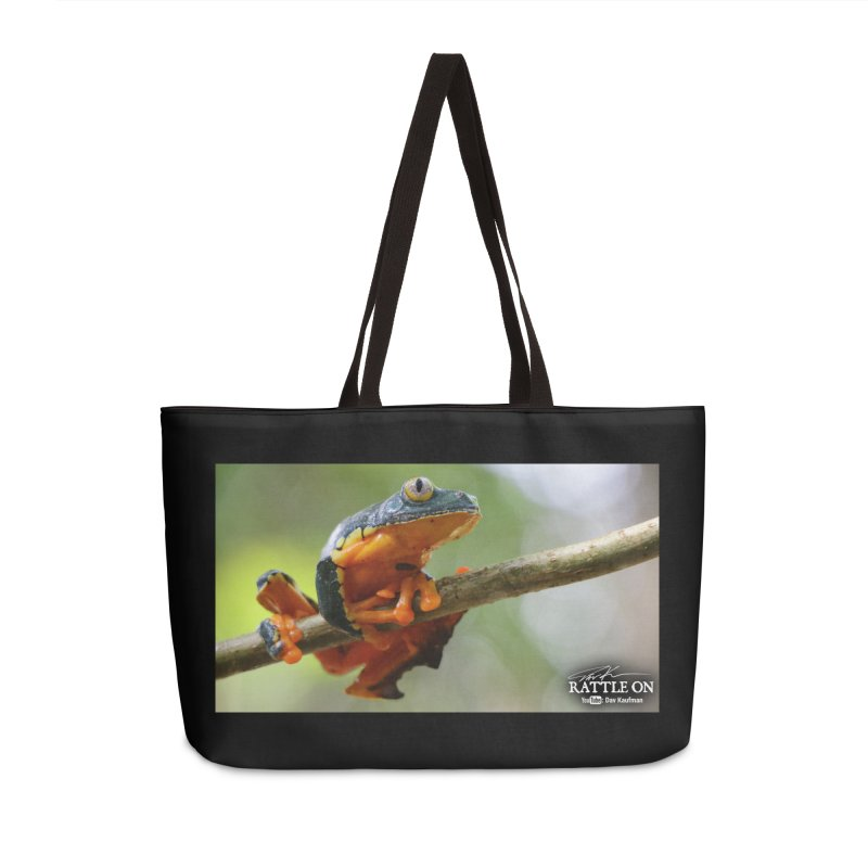 Amazon Leaf Frog Accessories Weekender Bag Bag by Dav Kaufman's Swag Shop!