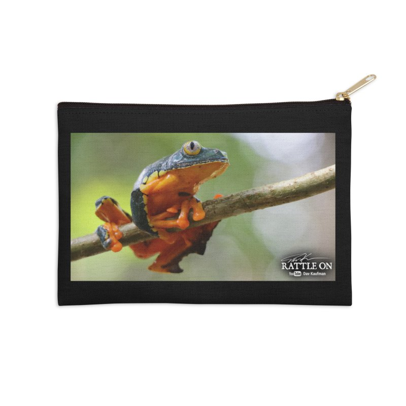 Amazon Leaf Frog Accessories Zip Pouch by Dav Kaufman's Swag Shop!
