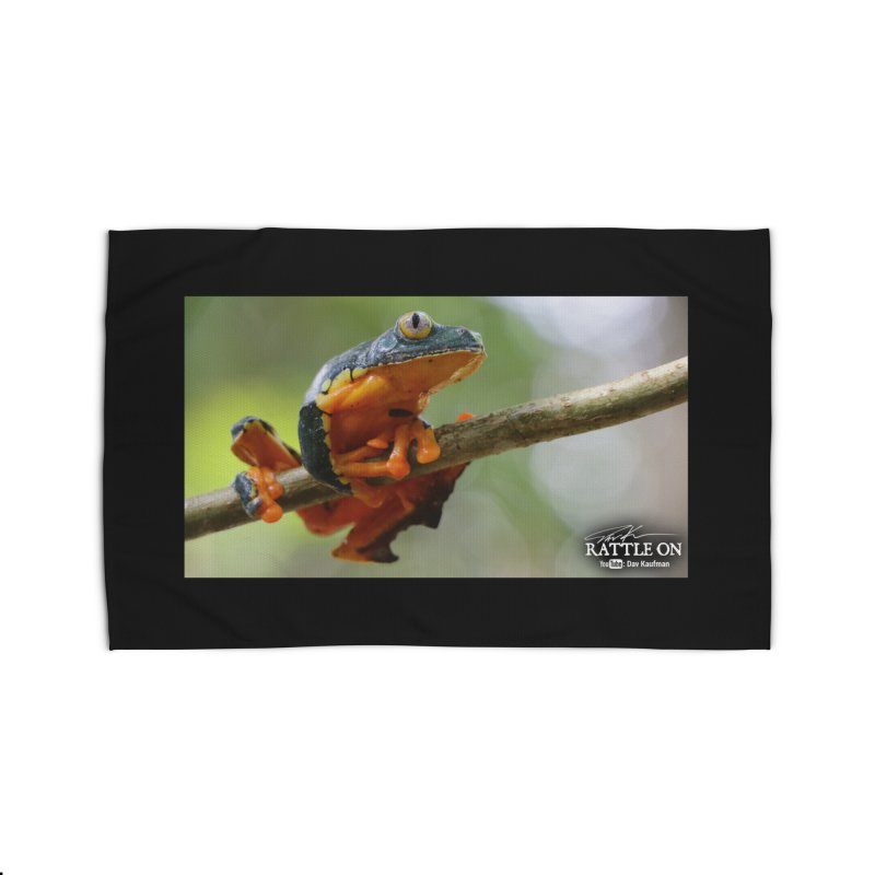 Amazon Leaf Frog Home Rug by Dav Kaufman's Swag Shop!