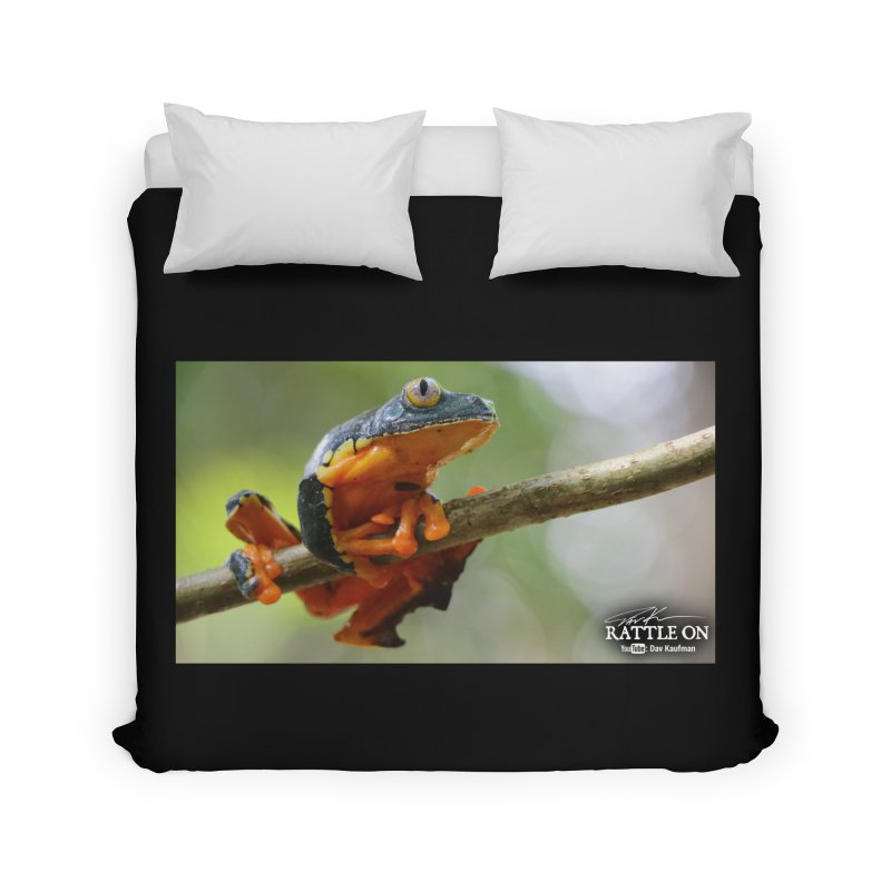 Amazon Leaf Frog Home Duvet by Dav Kaufman's Swag Shop!