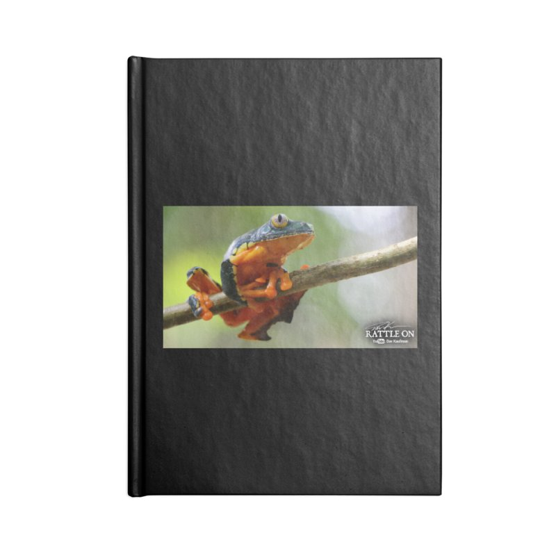 Amazon Leaf Frog Accessories Lined Journal Notebook by Dav Kaufman's Swag Shop!