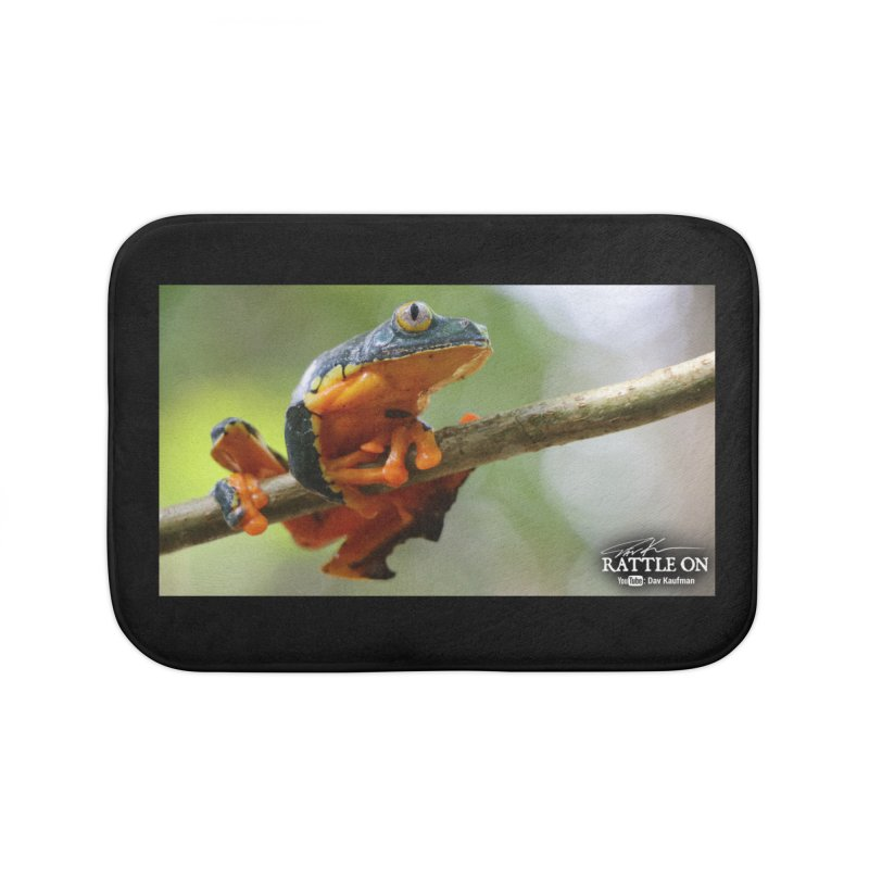 Amazon Leaf Frog Home Bath Mat by Dav Kaufman's Swag Shop!