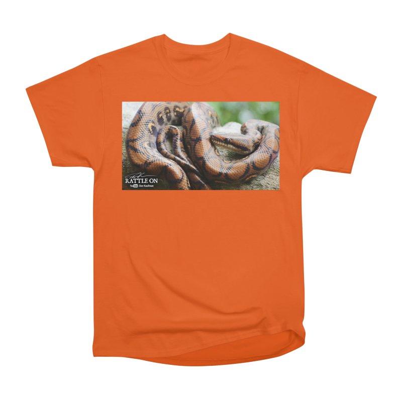 Peruvian Rainbow Boa Men's T-Shirt by Dav Kaufman's Swag Shop!