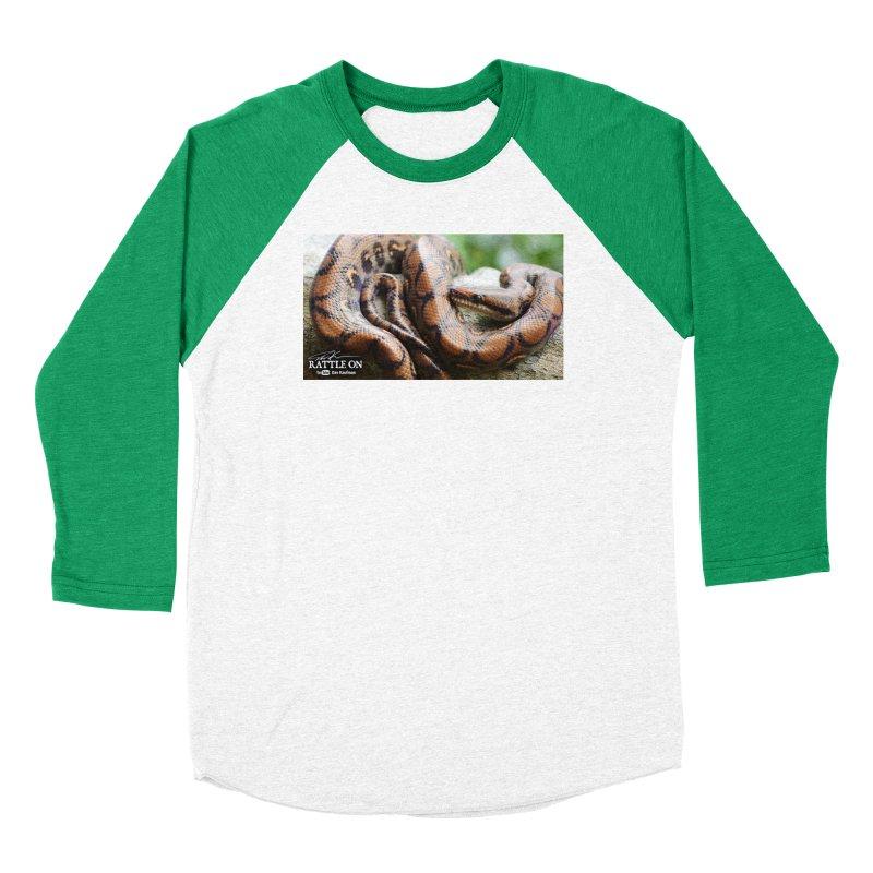 Peruvian Rainbow Boa Women's Longsleeve T-Shirt by Dav Kaufman's Swag Shop!