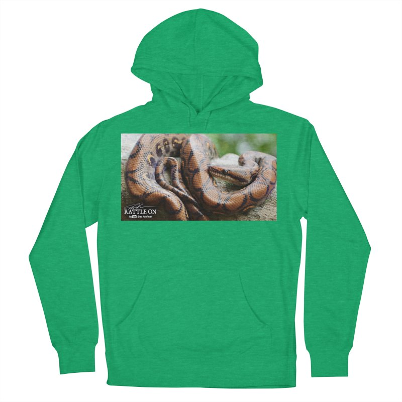 Peruvian Rainbow Boa Women's French Terry Pullover Hoody by Dav Kaufman's Swag Shop!