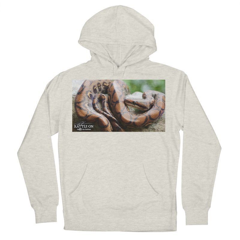 Peruvian Rainbow Boa Men's French Terry Pullover Hoody by Dav Kaufman's Swag Shop!