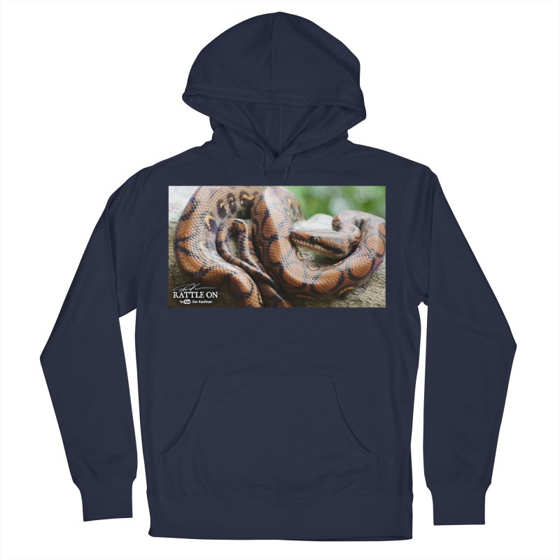 Peruvian Rainbow Boa Men's Pullover Hoody by Dav Kaufman's Swag Shop!