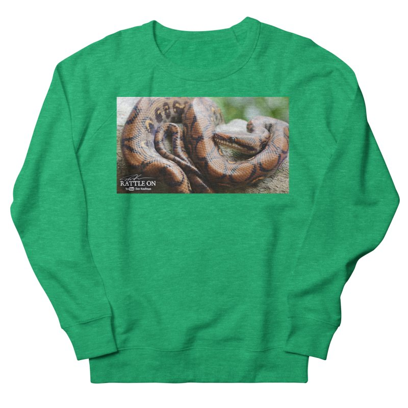 Peruvian Rainbow Boa Women's Sweatshirt by Dav Kaufman's Swag Shop!