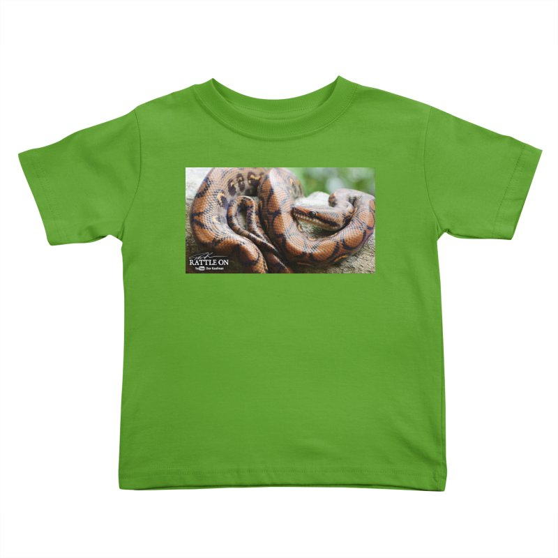 Peruvian Rainbow Boa Kids Toddler T-Shirt by Dav Kaufman's Swag Shop!