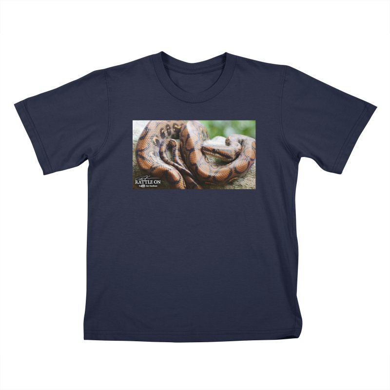 Peruvian Rainbow Boa Kids T-Shirt by Dav Kaufman's Swag Shop!