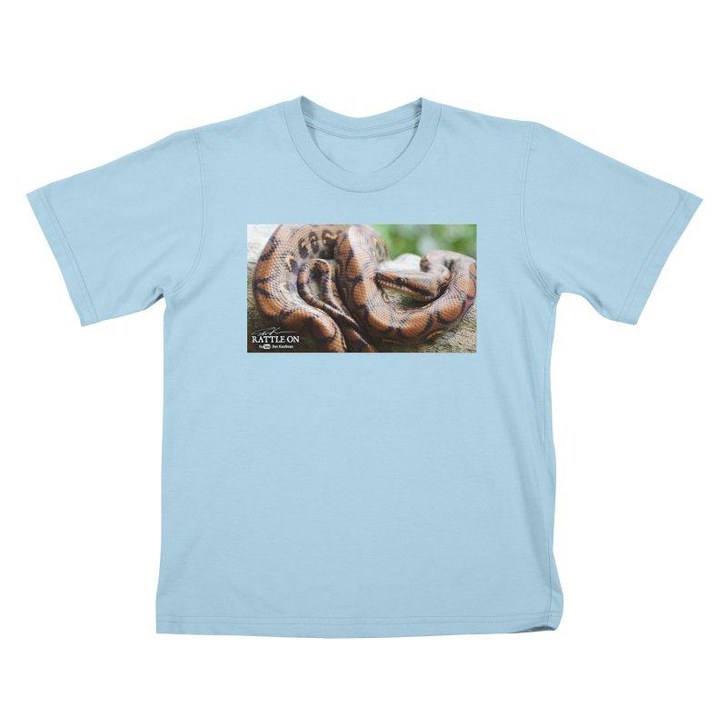 Peruvian Rainbow Boa Kids T-Shirt by Dav Kaufman's Swag Shop!