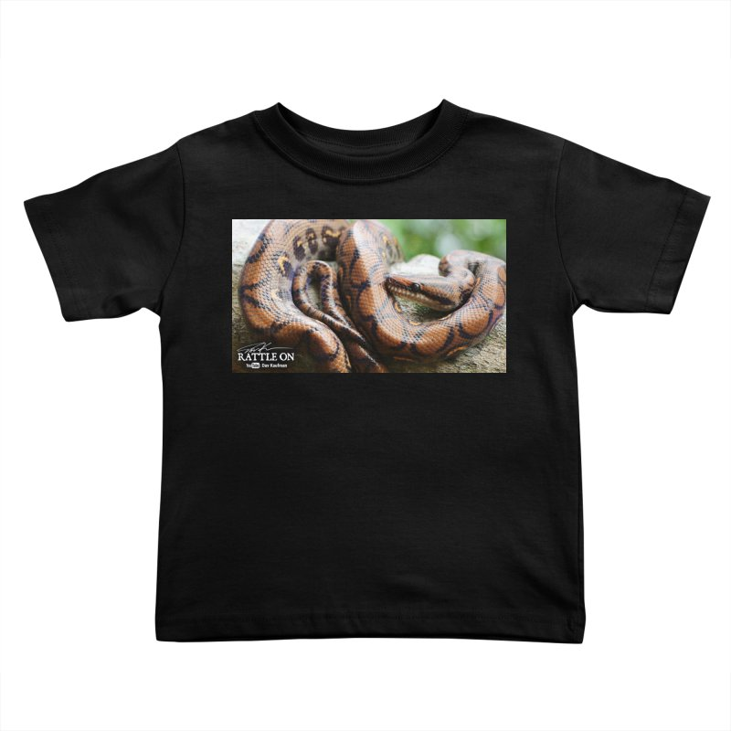 Peruvian Rainbow Boa Kids Toddler T-Shirt by Dav Kaufman's Swag Shop!
