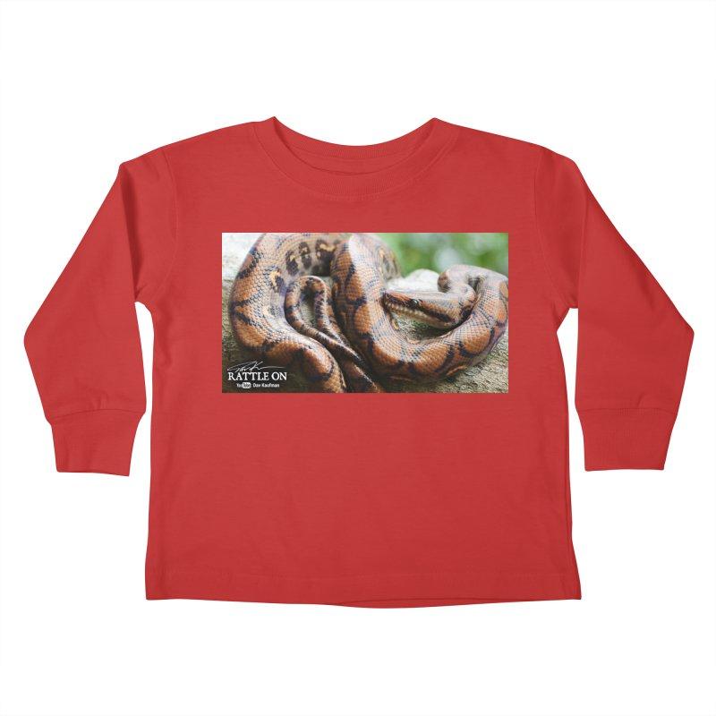 Peruvian Rainbow Boa Kids Toddler Longsleeve T-Shirt by Dav Kaufman's Swag Shop!