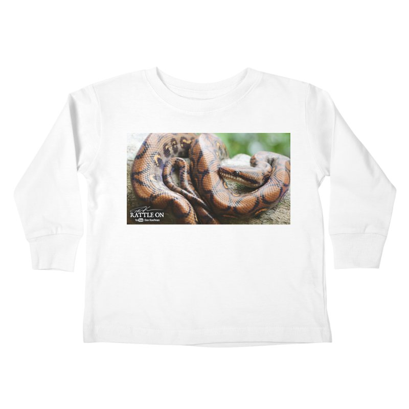 Peruvian Rainbow Boa Kids Toddler Longsleeve T-Shirt by Dav Kaufman's Swag Shop!