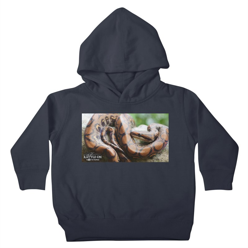 Peruvian Rainbow Boa Kids Toddler Pullover Hoody by Dav Kaufman's Swag Shop!