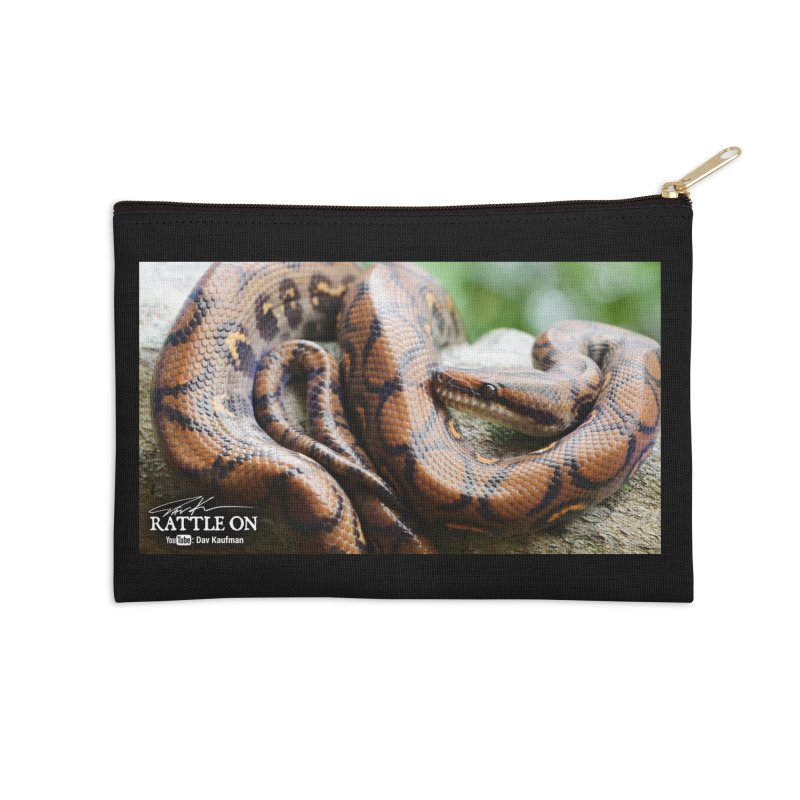 Peruvian Rainbow Boa Accessories Zip Pouch by Dav Kaufman's Swag Shop!