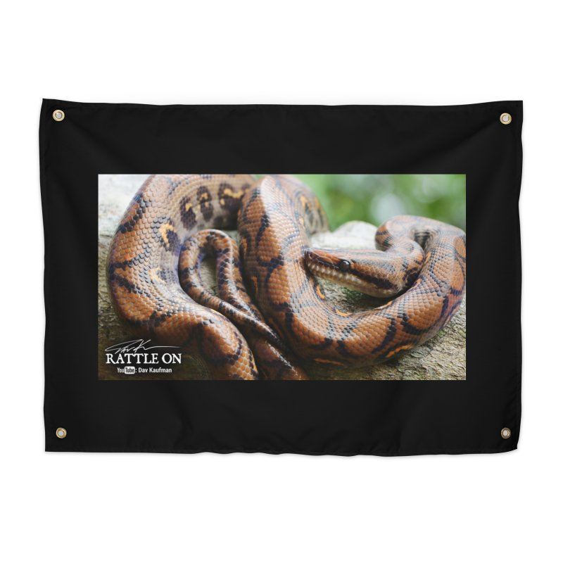 Peruvian Rainbow Boa Home Tapestry by Dav Kaufman's Swag Shop!