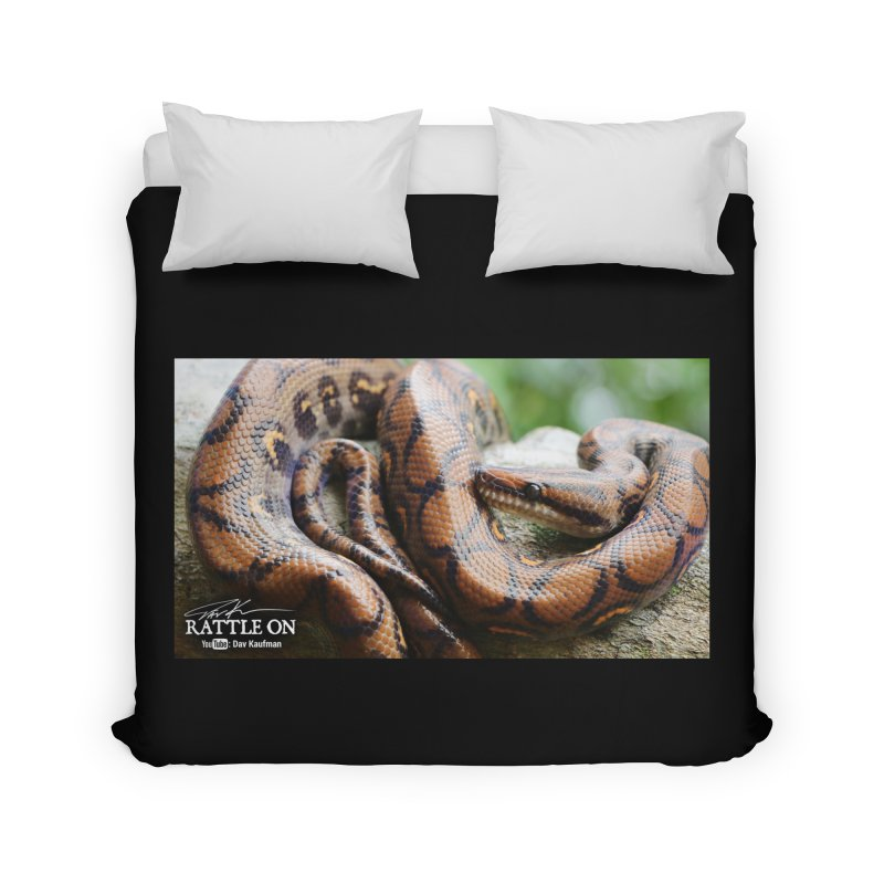 Peruvian Rainbow Boa Home Duvet by Dav Kaufman's Swag Shop!