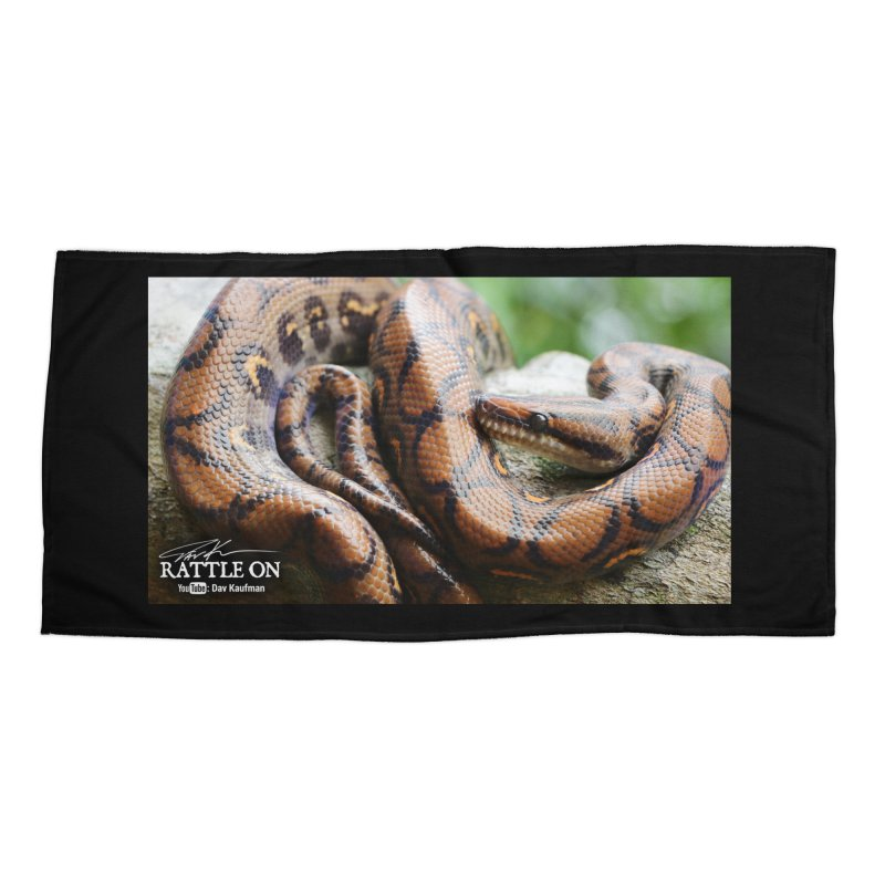 Peruvian Rainbow Boa Accessories Beach Towel by Dav Kaufman's Swag Shop!