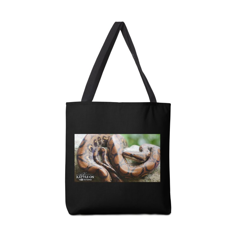 Peruvian Rainbow Boa Accessories Tote Bag Bag by Dav Kaufman's Swag Shop!