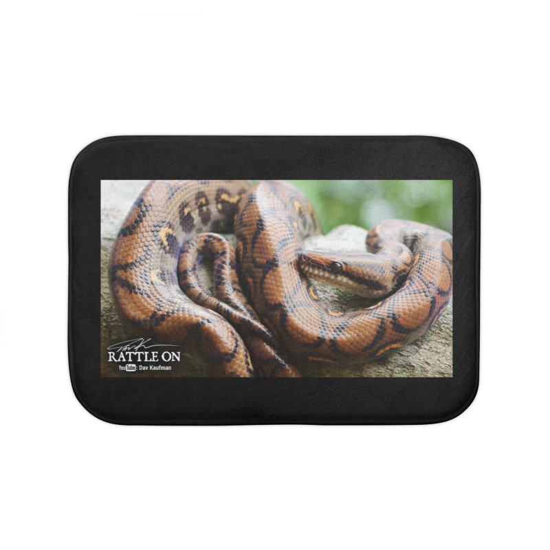 Peruvian Rainbow Boa Home Bath Mat by Dav Kaufman's Swag Shop!
