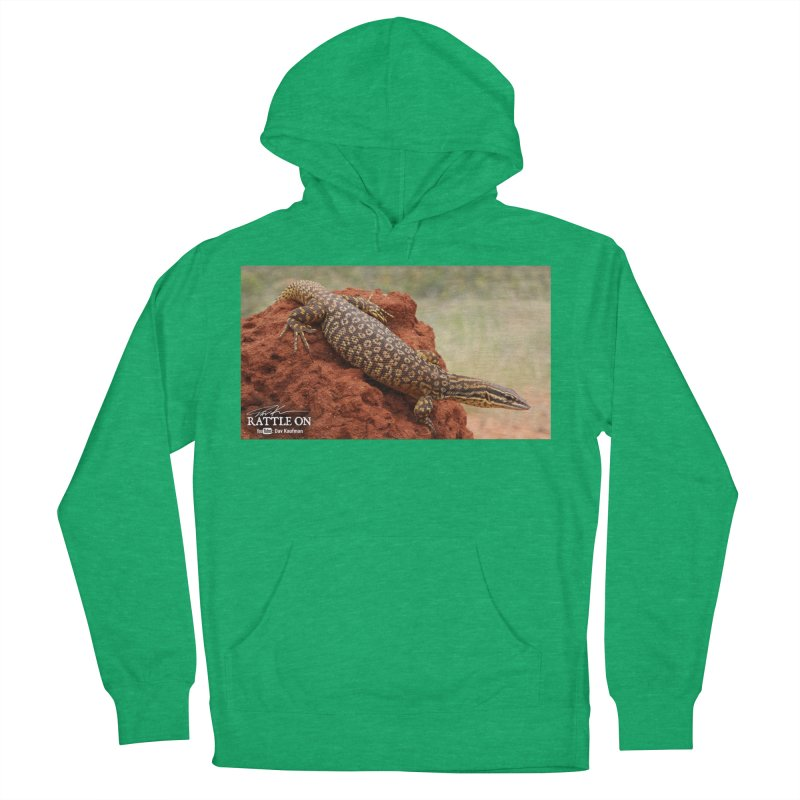 Red Ackie Men's French Terry Pullover Hoody by Dav Kaufman's Swag Shop!