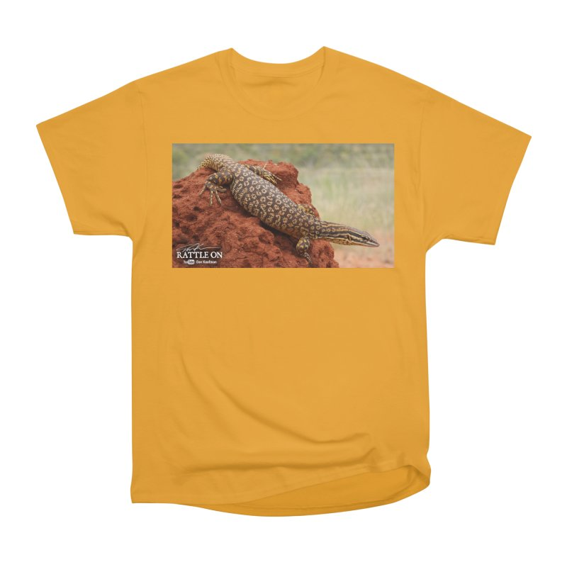 Red Ackie Men's Heavyweight T-Shirt by Dav Kaufman's Swag Shop!