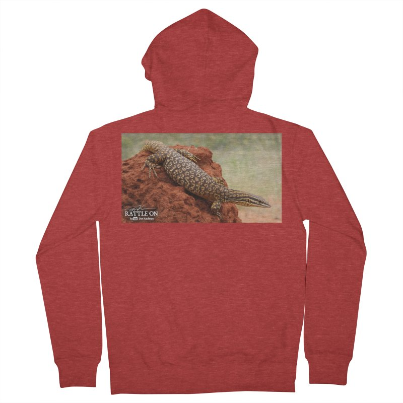 Red Ackie Men's Zip-Up Hoody by Dav Kaufman's Swag Shop!