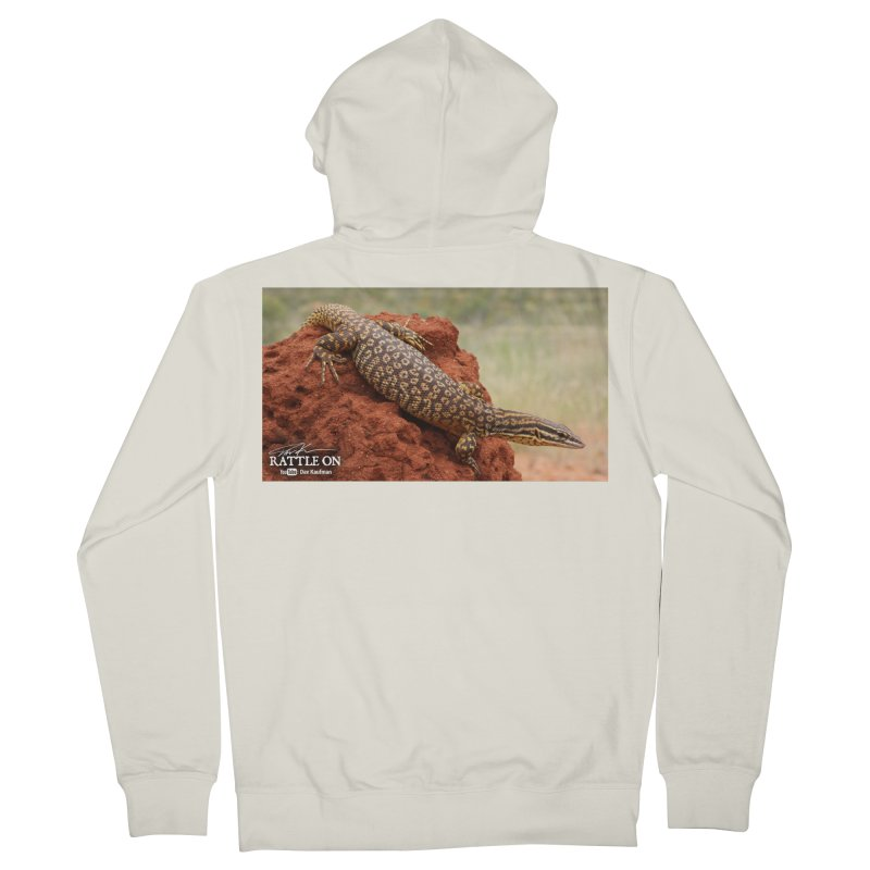 Red Ackie Men's French Terry Zip-Up Hoody by Dav Kaufman's Swag Shop!