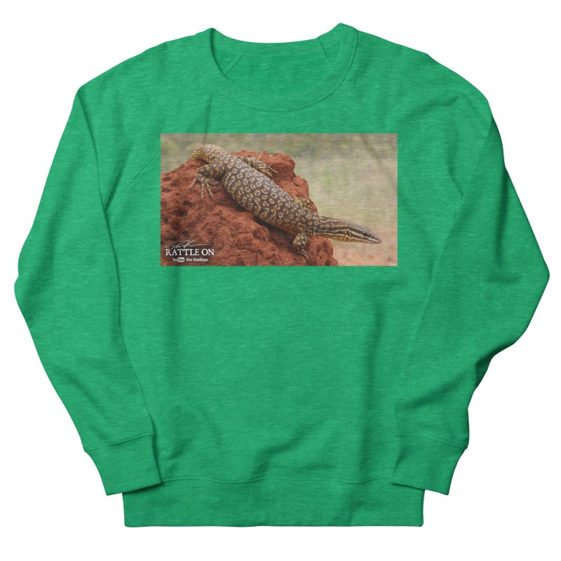 Red Ackie Women's French Terry Sweatshirt by Dav Kaufman's Swag Shop!