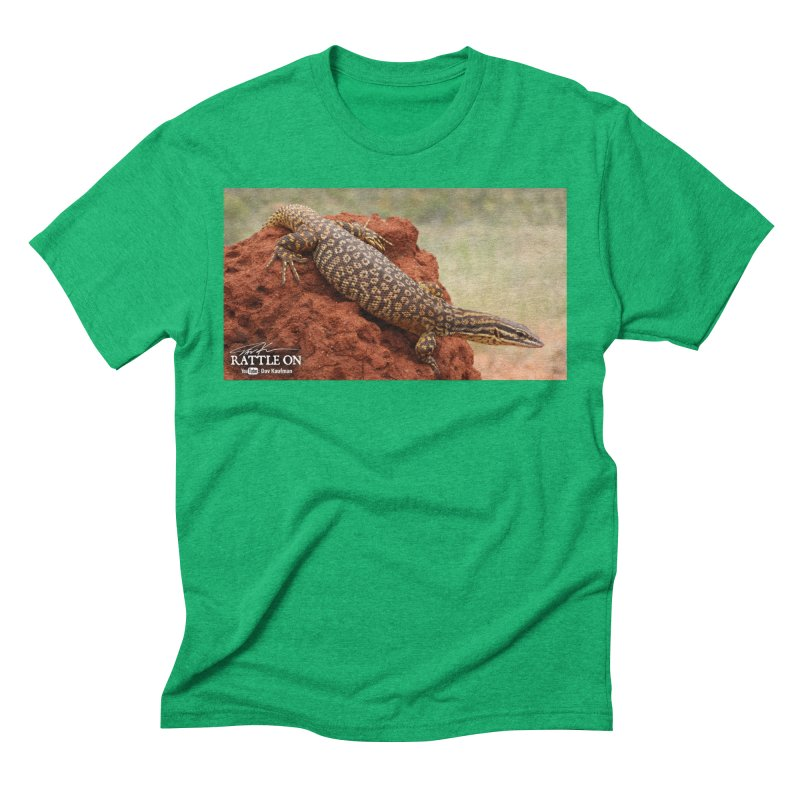 Red Ackie Men's Triblend T-Shirt by Dav Kaufman's Swag Shop!
