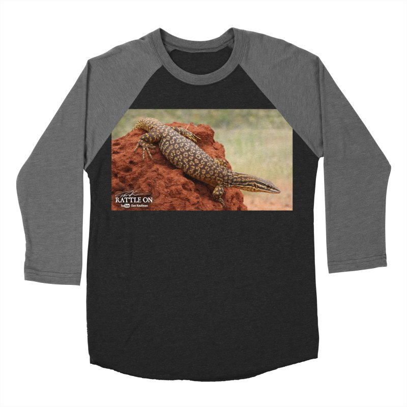 Red Ackie Women's Baseball Triblend T-Shirt by Dav Kaufman's Swag Shop!