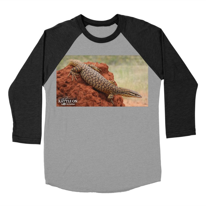 Red Ackie Men's Baseball Triblend T-Shirt by Dav Kaufman's Swag Shop!