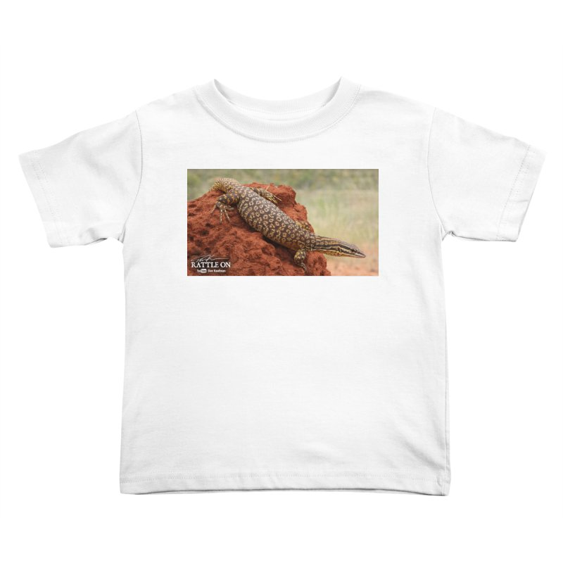 Red Ackie Kids Toddler T-Shirt by Dav Kaufman's Swag Shop!