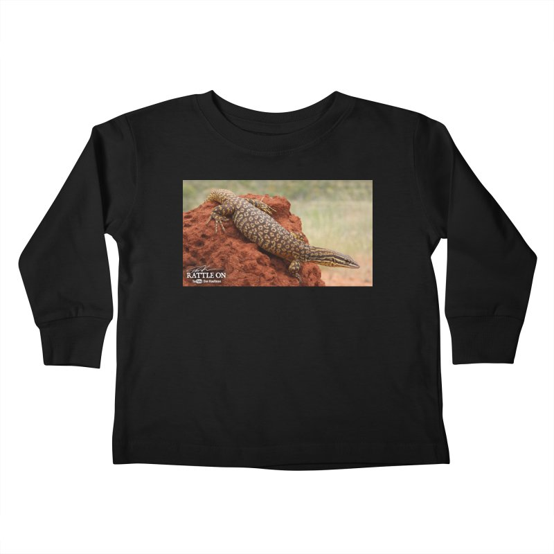 Red Ackie Kids Toddler Longsleeve T-Shirt by Dav Kaufman's Swag Shop!