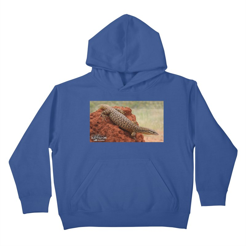 Red Ackie Kids Pullover Hoody by Dav Kaufman's Swag Shop!