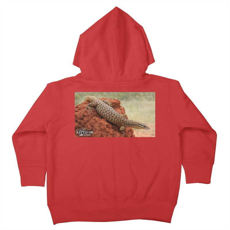 Red Ackie Kids Toddler Zip-Up Hoody by Dav Kaufman's Swag Shop!
