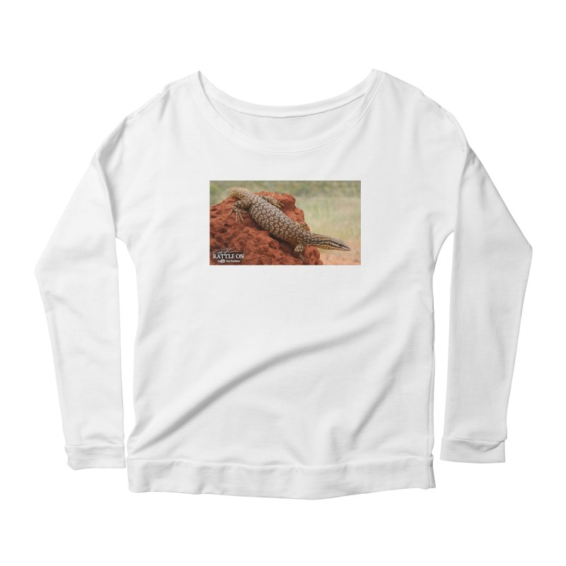Red Ackie Women's Longsleeve Scoopneck  by Dav Kaufman's Swag Shop!