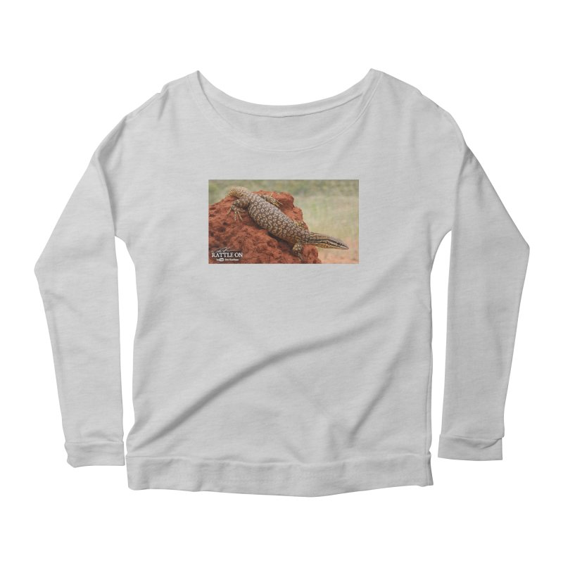 Red Ackie Women's Scoop Neck Longsleeve T-Shirt by Dav Kaufman's Swag Shop!