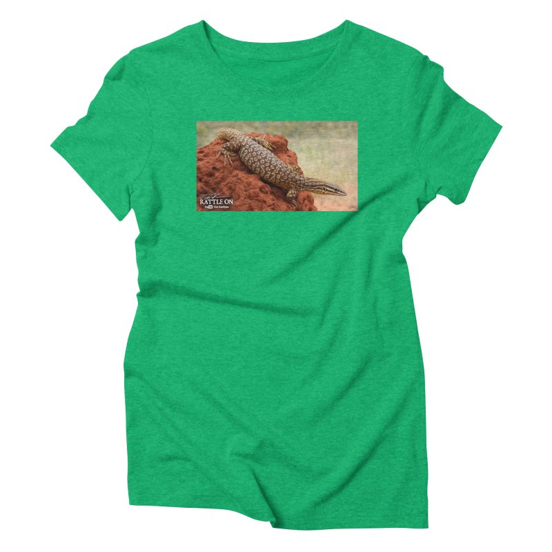 Red Ackie Women's Triblend T-shirt by Dav Kaufman's Swag Shop!