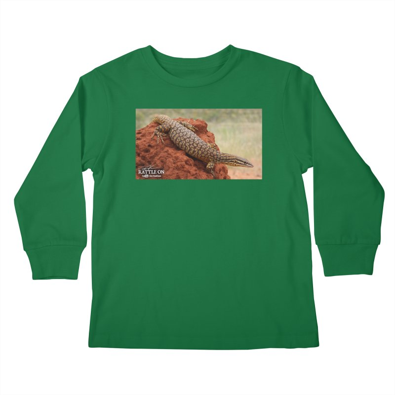 Red Ackie Kids Longsleeve T-Shirt by Dav Kaufman's Swag Shop!