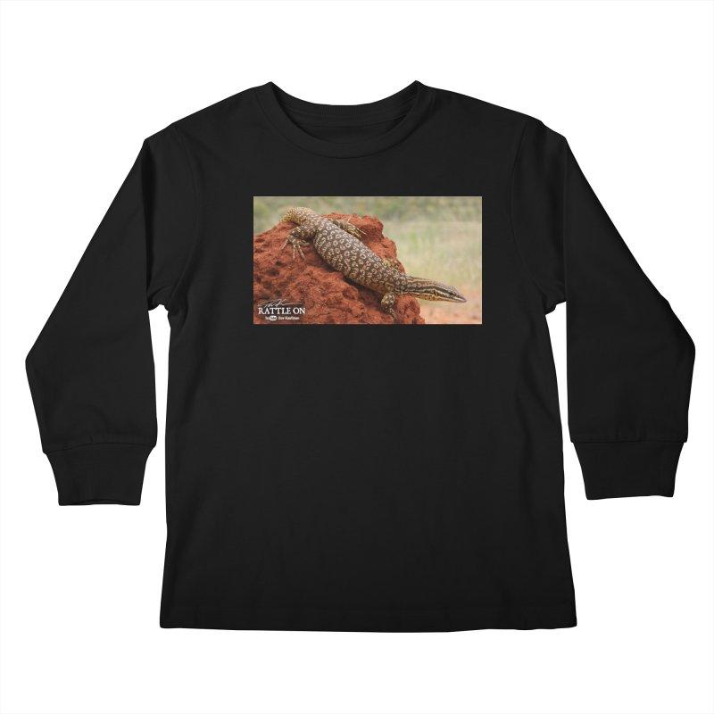 Red Ackie Kids Longsleeve T-Shirt by Dav Kaufman's Swag Shop!