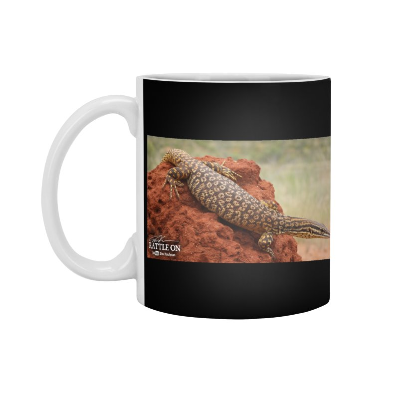 Red Ackie Accessories Mug by Dav Kaufman's Swag Shop!