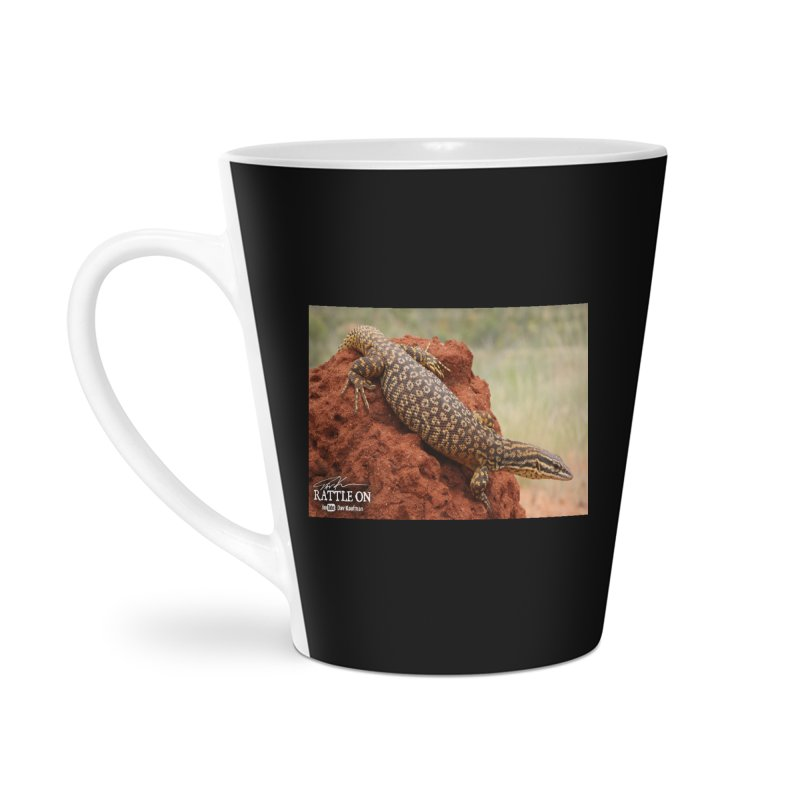 Red Ackie Accessories Latte Mug by Dav Kaufman's Swag Shop!